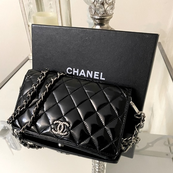 ❤️ Chanel Patent Leather long WOC❤️